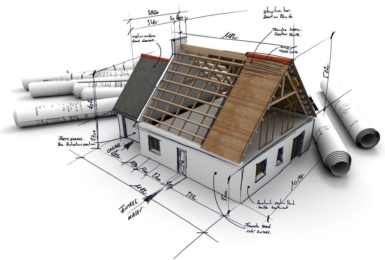 Hausbau zeichnung  KLIMA .STEINHAUS, Hausbau ohne Stress und Sorgen! Individuell ...